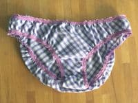 Gingham Knicker Kits - lilac